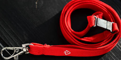 Blank lanyards in stock