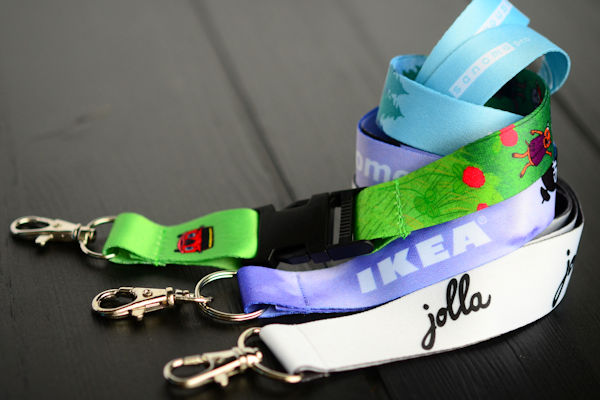 Full Colour Sublimation Printed Lanyards