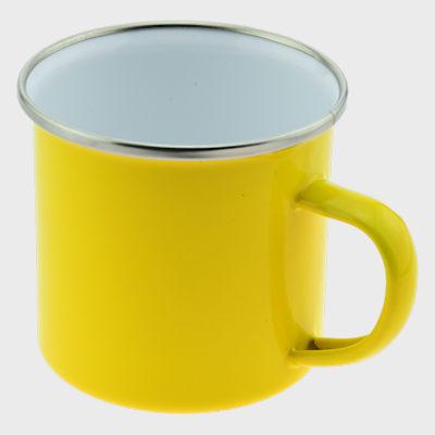 Enamel Mug Yellow