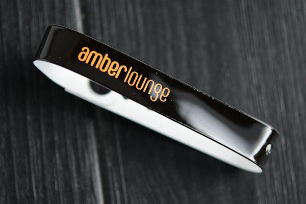 Vinyl wristband with printed logo