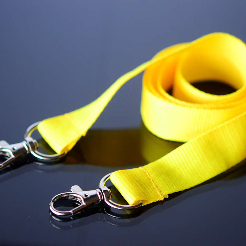 Lanyard 20mm with two clips