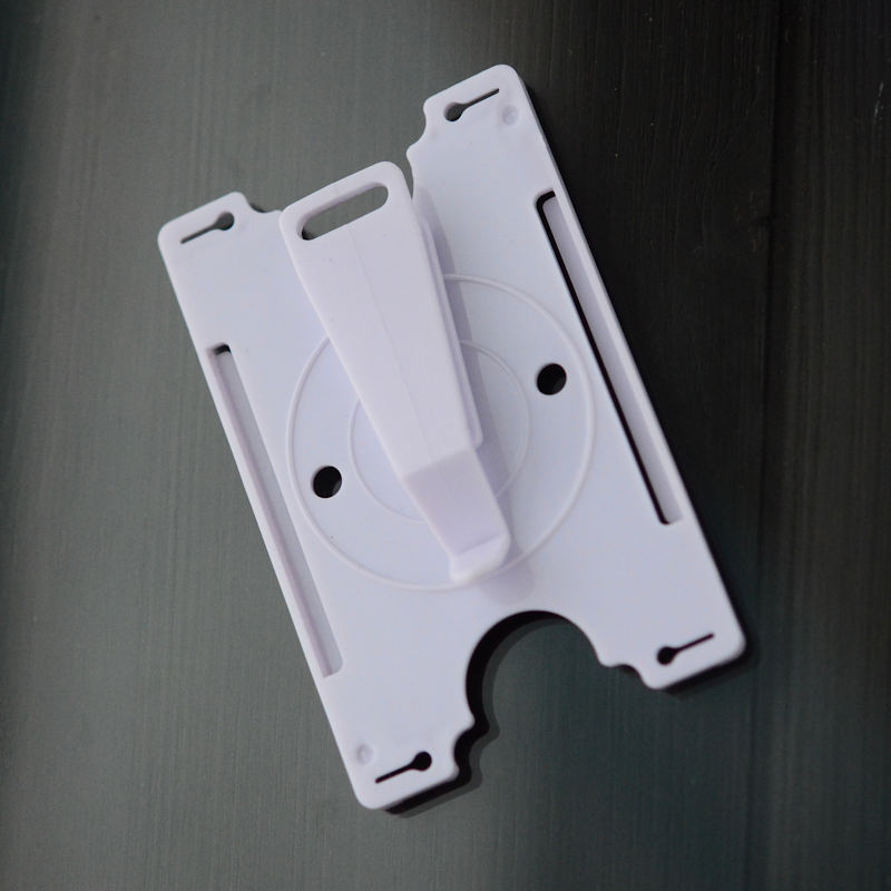 Rotating ID-card holder