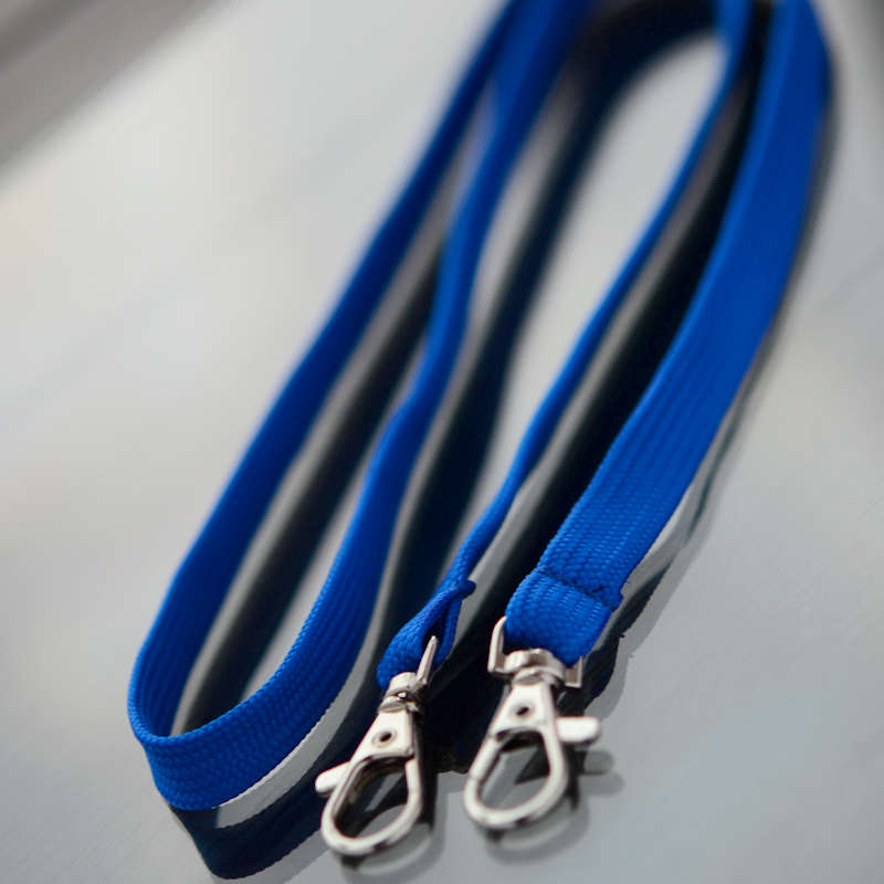 Classic lanyard with two trigger clips