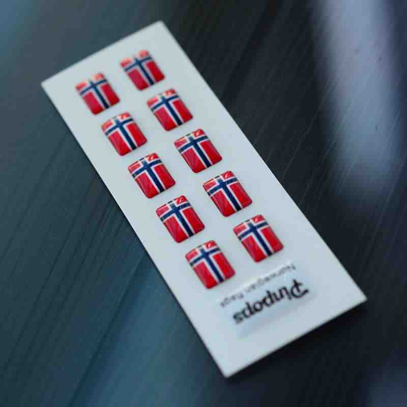 Norwegian Language stickers for name badges
