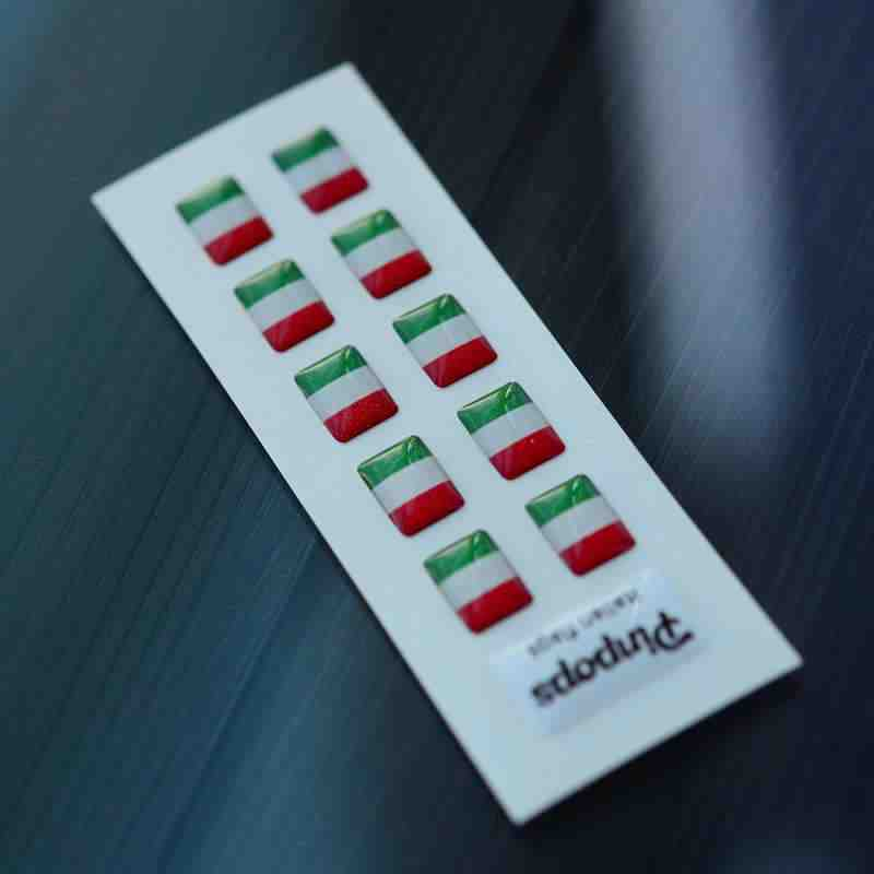 Italian Language stickers for name badges