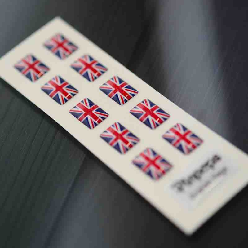 English Language stickers for name badges